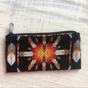 Beaded mini purse